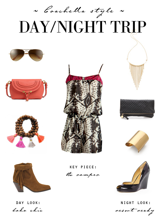 small shop: Palm Springs Coachella style day/night trip