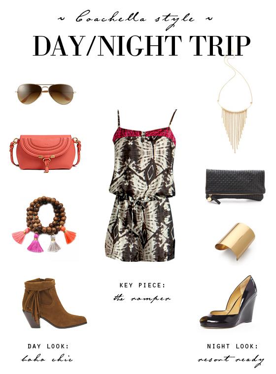 small shop: Palm Springs Coachella style day/night trip