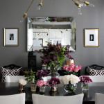 small shop anniversary chandelier, DIY Lindsey Adelman, dining room, flowers