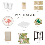 small shop: spanish style for summer from zara home