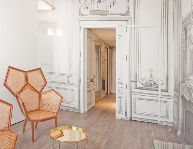 French luxe l 39 h tel by martin margiela erika brechtel - Maison champs elysees hotel paris ...