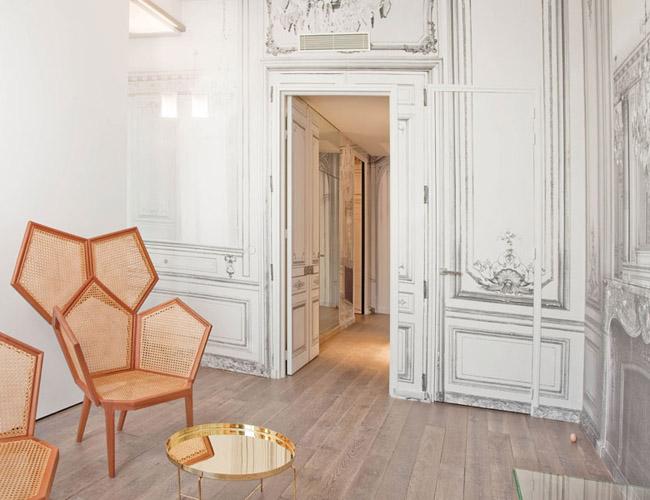 French luxe l 39 h tel by martin margiela erika brechtel - Maison champs elysees hotel paris ...