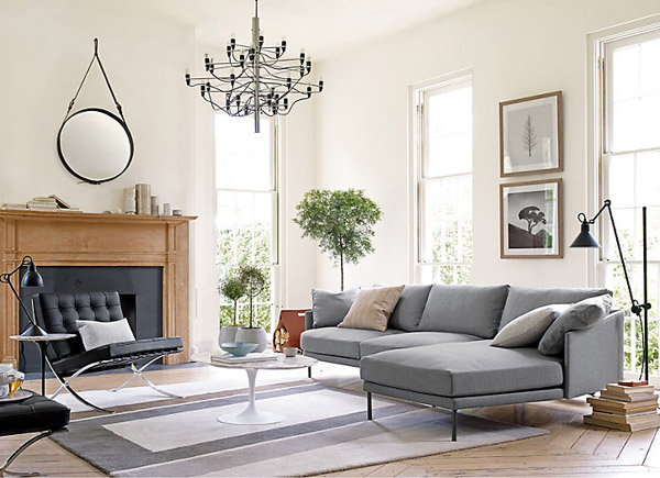 amusing decorating ideas living rooms barcelona chairs | Design Under the Influence: The Barcelona Chair | La Dolce ...