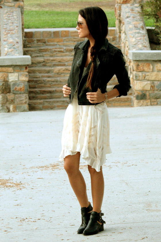 dress with booties summer