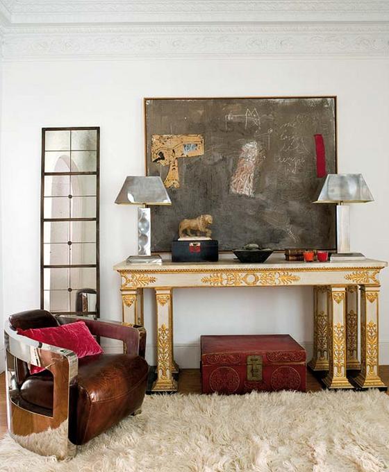1970s Modern Home Architecture: TRAD ECLECTIC Barcelona Designer Home