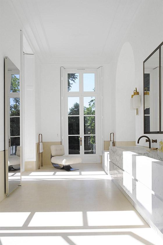 Luxe Minimal Rehab In Saint Germain Des Pr 233 S Erika Brechtel