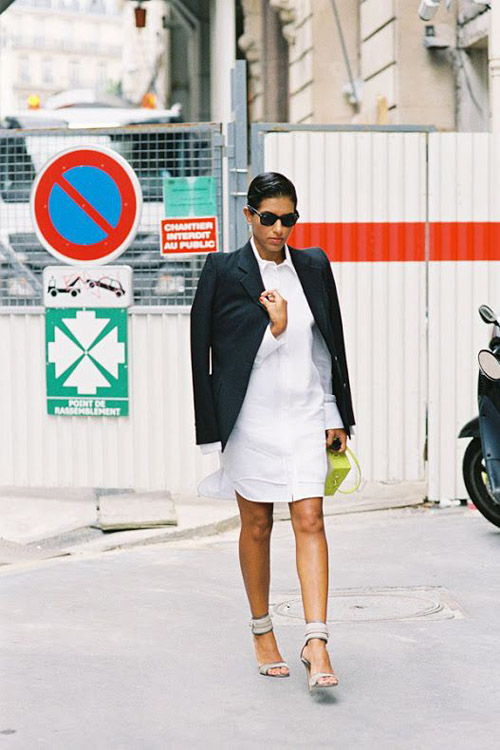 Spring Trend To Try The White Shirtdress Erika Brechtel