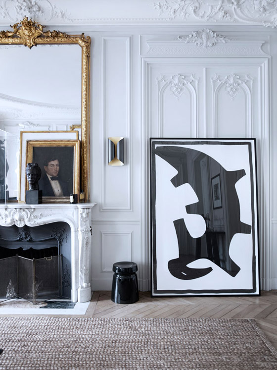 maison modern paris i 39 m in love erika brechtel. Black Bedroom Furniture Sets. Home Design Ideas