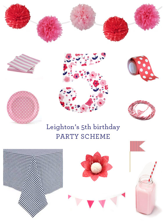 small-shop-Erika-Brechtel-girls-5th-birthday-party-scheme-navy-pink-red