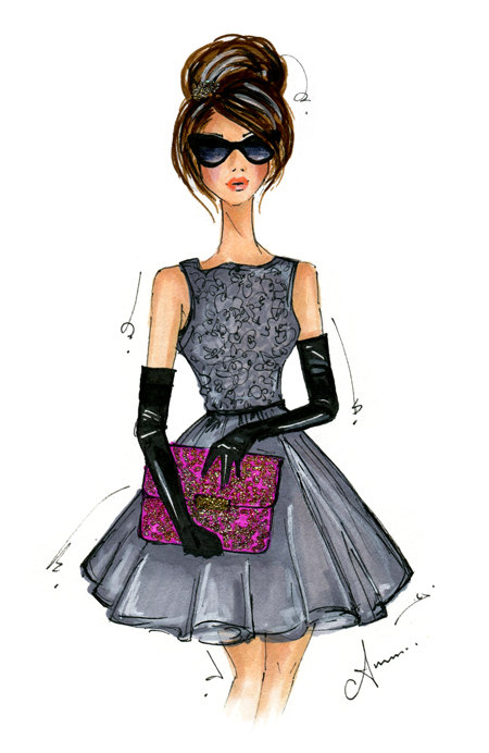 Giveaway Fashion Illustration By Anum Tariq Erika Brechtel