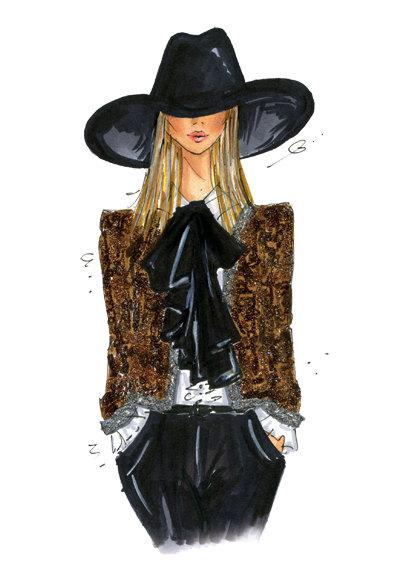 giveaway  fashion illustration by anum tariq