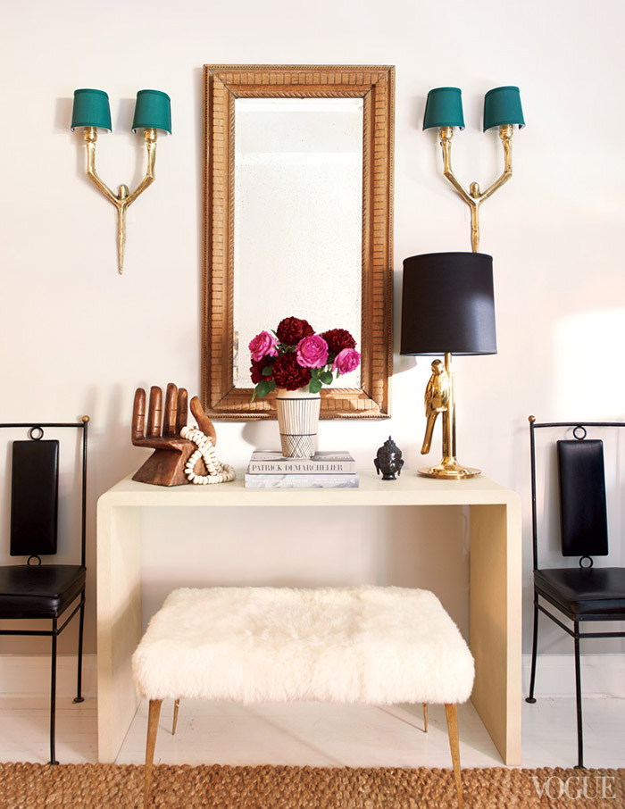 SUPERMODEL HOME Karlie Kloss' NYC Townhome // small shop by Erika