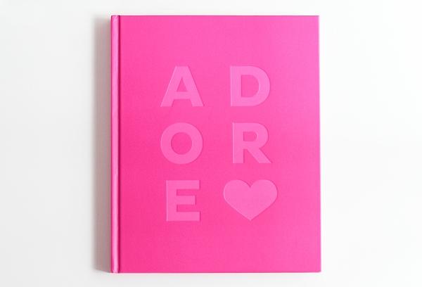 Adore Home magazine book pink exterior