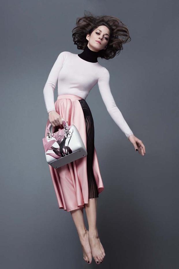 Lady Dior fw14 ad campaign Marion Cotillard 2