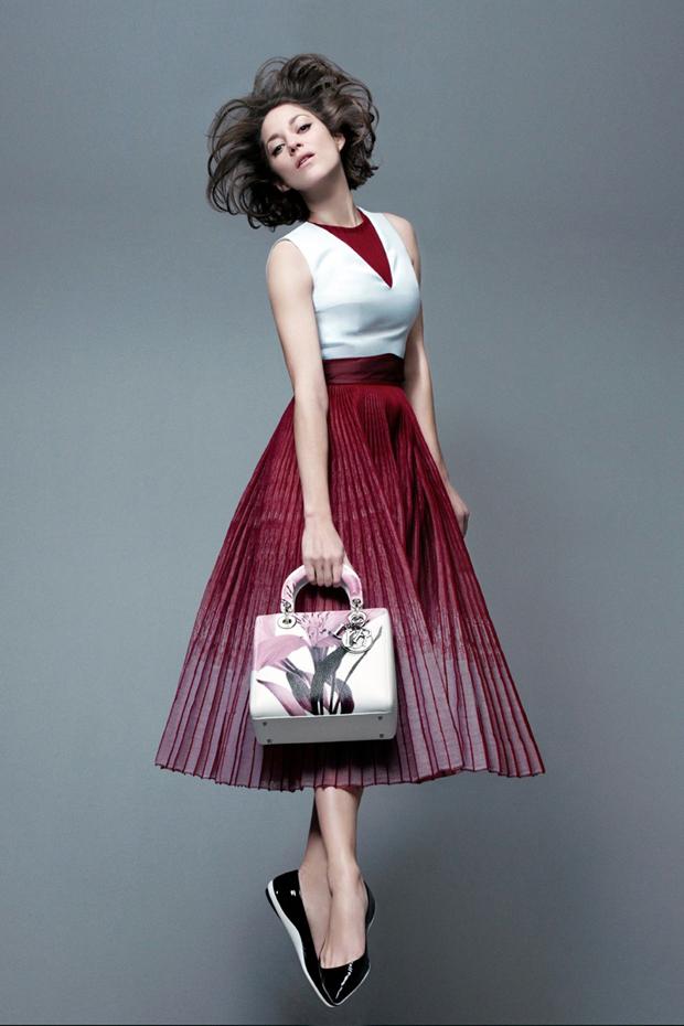 Lady Dior fw14 ad campaign Marion Cotillard 3