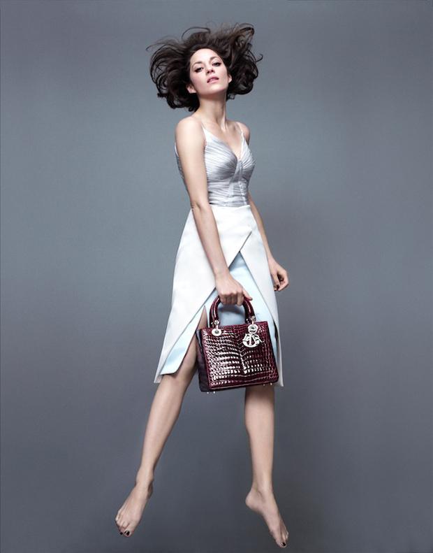 Lady Dior fw14 ad campaign Marion Cotillard 5