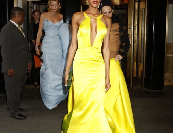 Met Gala 2014 Jourdan Dunn in Topshop