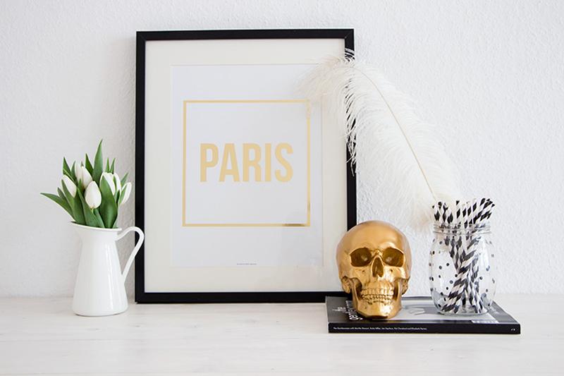 sealoe not your standard blog paris gold print
