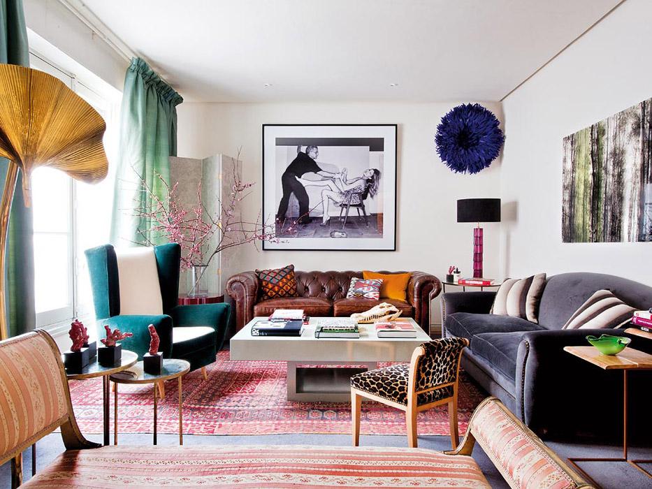 Bohemian classic in madrid erika brechtel for Eclectisch interieur
