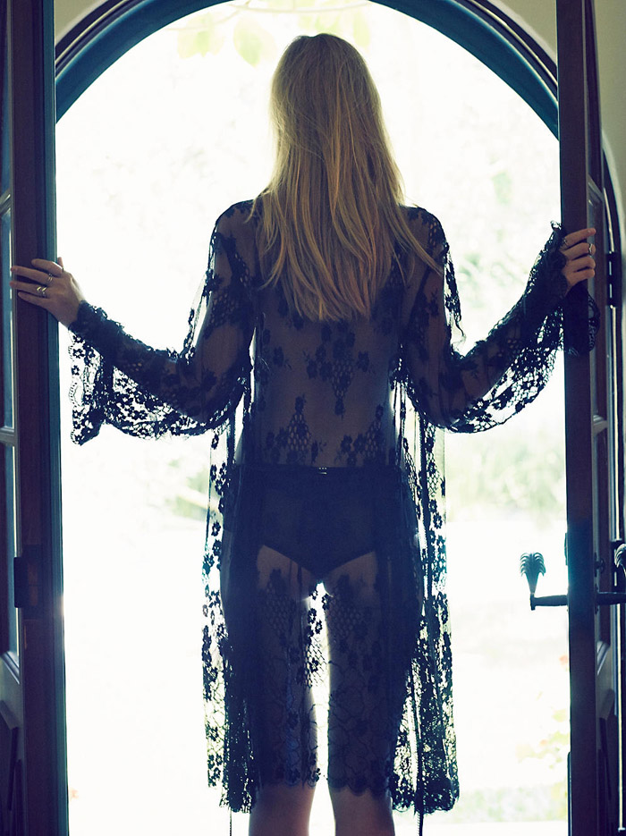 Free People x For Love and Lemons flower bomb robe