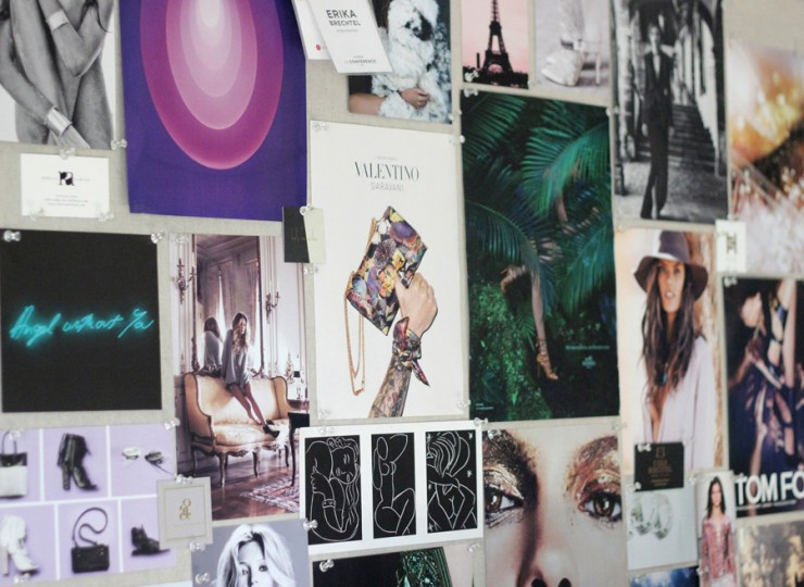 inspiration pinboard early fall 2014 art boho chic Tracey Emin James Turrell Erika Brechtel