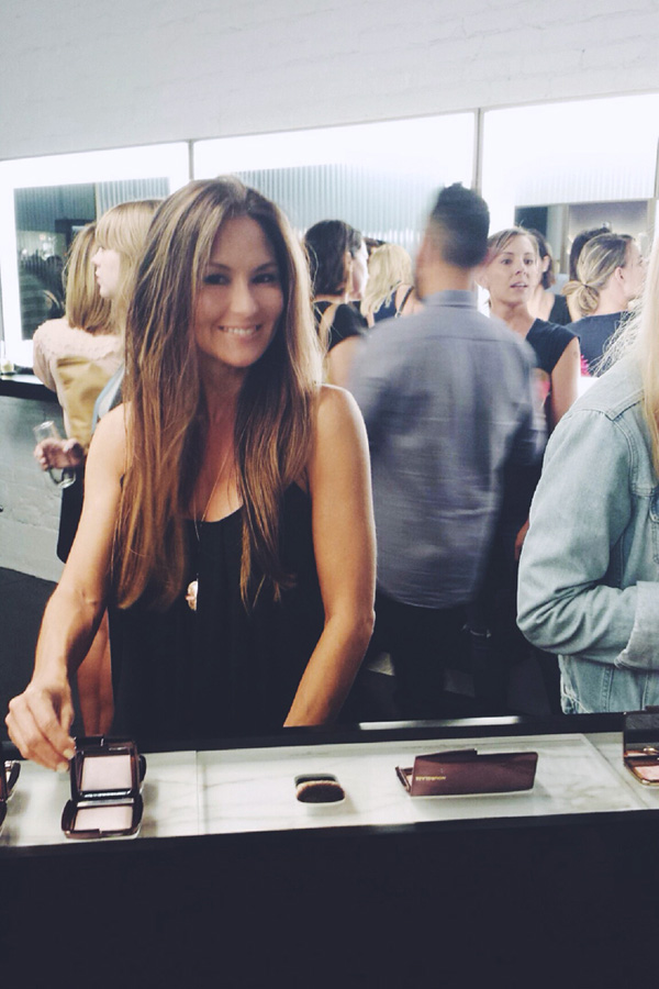 Hourglass store opening Abbot Kinney Sept 2014 Erika Brechtel