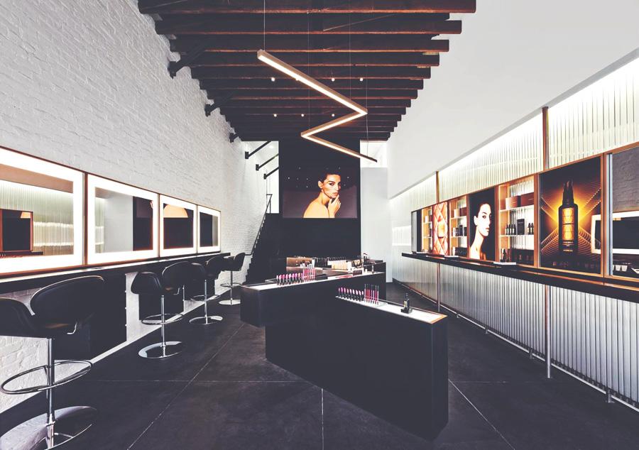 Hourglass store opening Abbot Kinney Sept 2014 store design