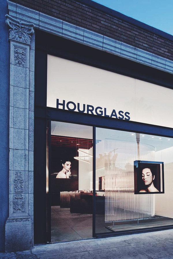 Hourglass store opening Abbot Kinney Sept 2014 storefront