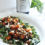 THE MIX WITH YUKI Butternut Squash Salad with Pancetta, Lentils, Feta & Mint