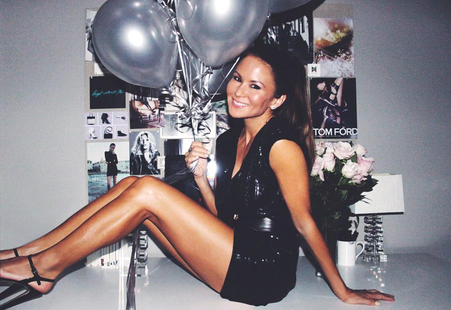 Erika Brechtel 12 year anniversary girlboss balloons.jpg Erika Brechtel 12 year anniversary girlboss