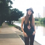 GET THE LOOK The Fedora, Muscle Tee & Graphic Skinny