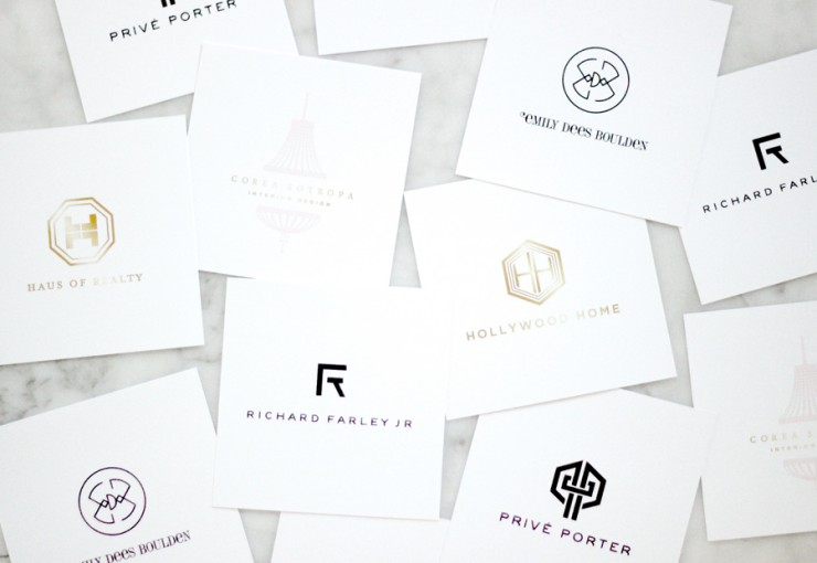 logo designs by Erika Brechtel