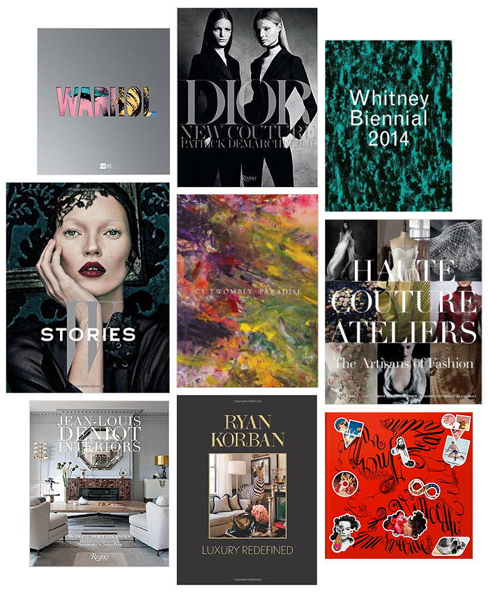 new art fashion design books 2014 Erika Brechtel picks