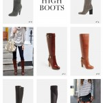 THE TREND Knee High Boots