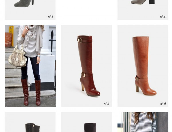 trend knee high boots Erika Brechtel