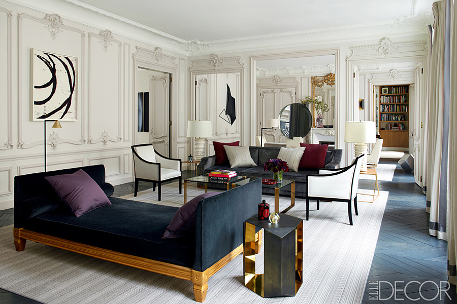 Beaux artful contemporary in paris erika brechtel Parisian style home