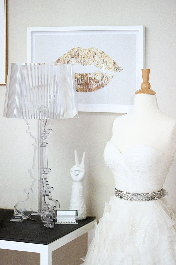 Soho NYC loft Tamra Sanford ever swoon studio bridal gown