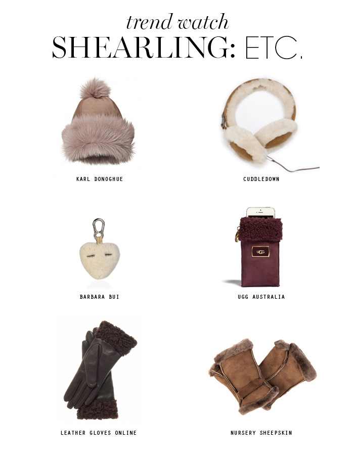 shearling trend etc