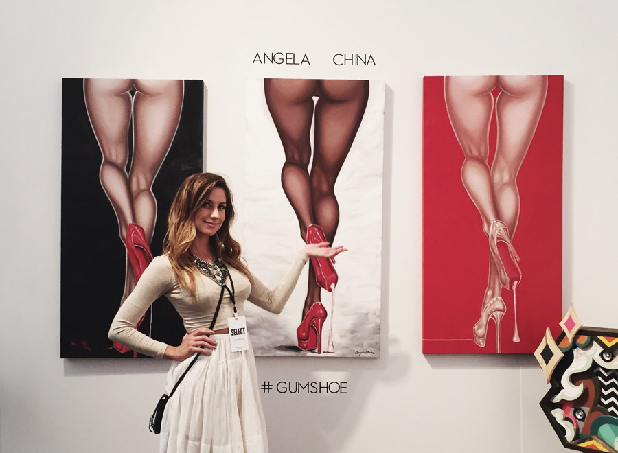 Art Basel Miami 2014 Erika Brechtel Select Art Fair Angela China gumshoe