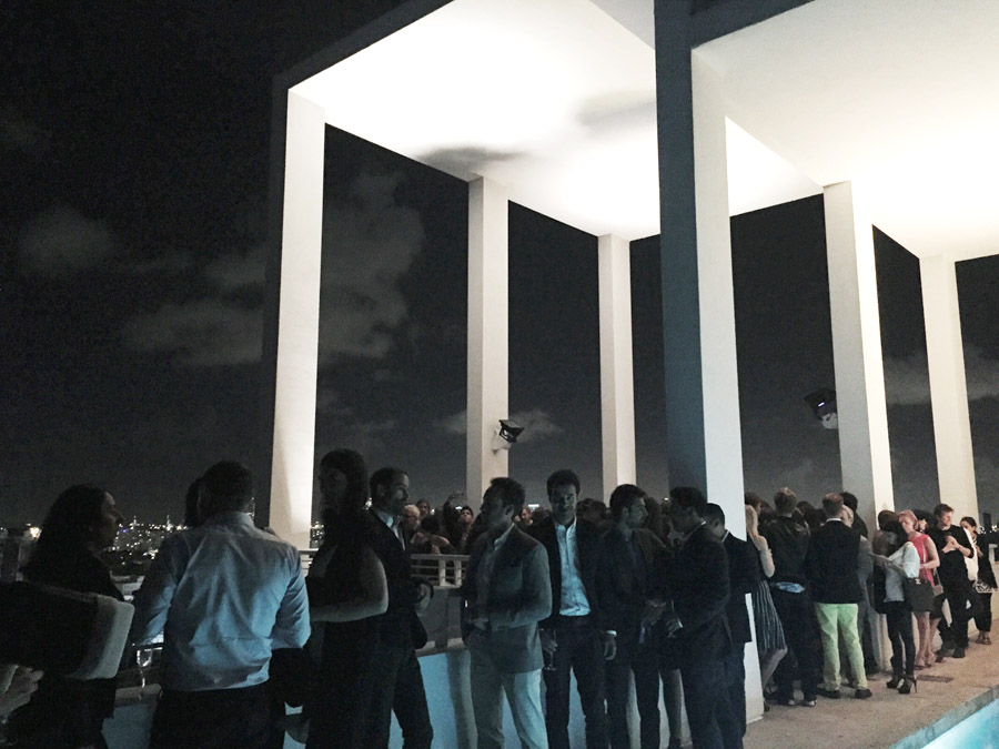 Art Basel Miami 2014 Erika Brechtel Wallpaper mag party Espasso Shore Club penthouse rooftop