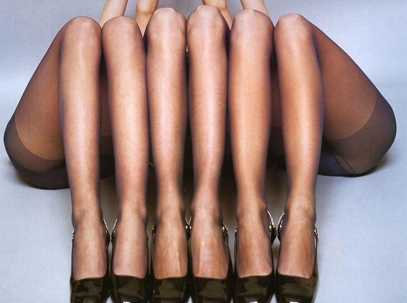 Guy Bourdin fashion photography legs hosiery shoes