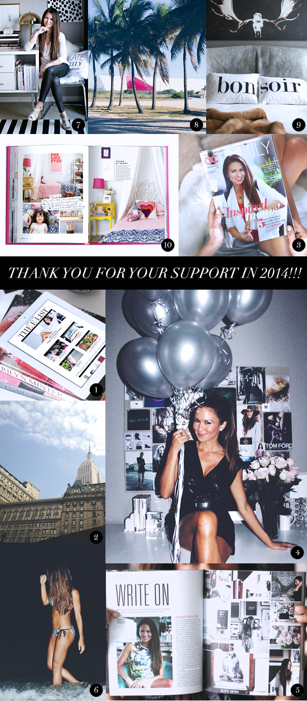 Top 10 of 2014 Erika Brechtel collage
