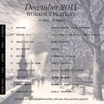 WORKOUT PLAYLIST December 2014