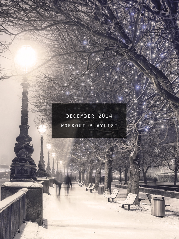 workout playlist December 2014 cover