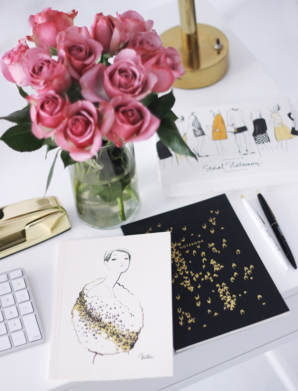 giveaway Garance Dore stationery Erika Brechtel notebooks
