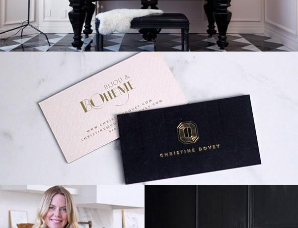 Christine Dovey interiors stylist brand styled by Erika Brechtel