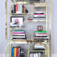 How to style a bookcase erika brechtel solutioingenieria Image collections