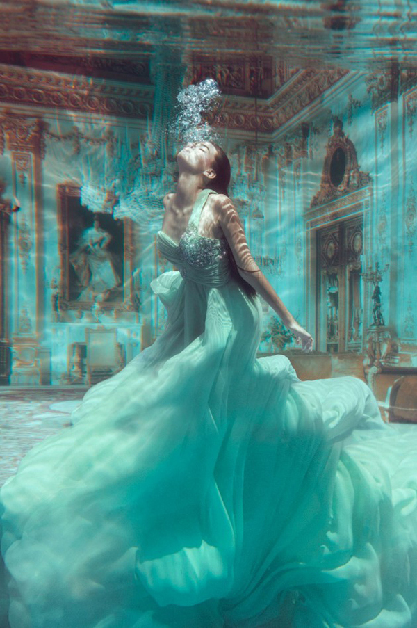 These Fine Walls art photography Drowning Princess by Jvdus Berra