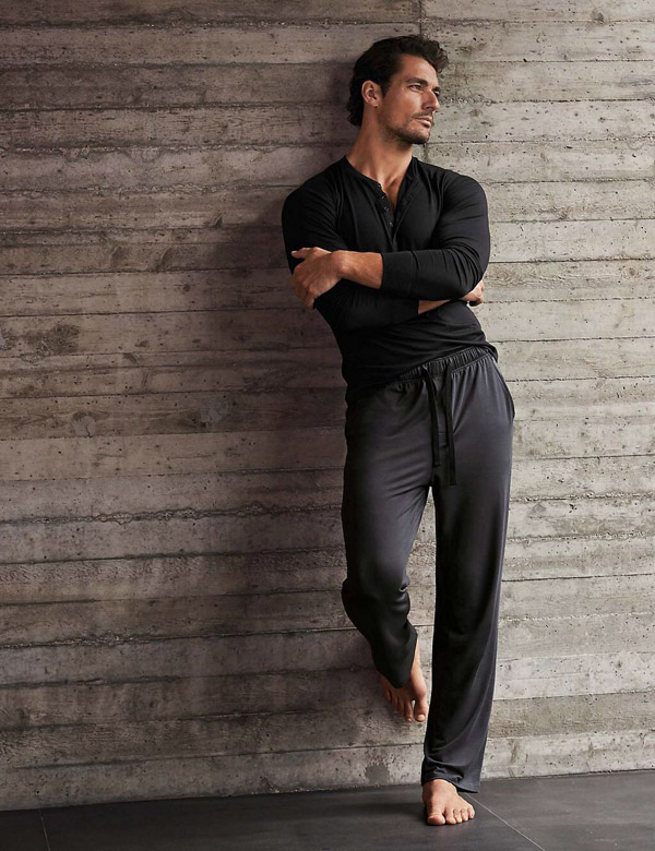 David Gandy Marks and Spencer loungewear