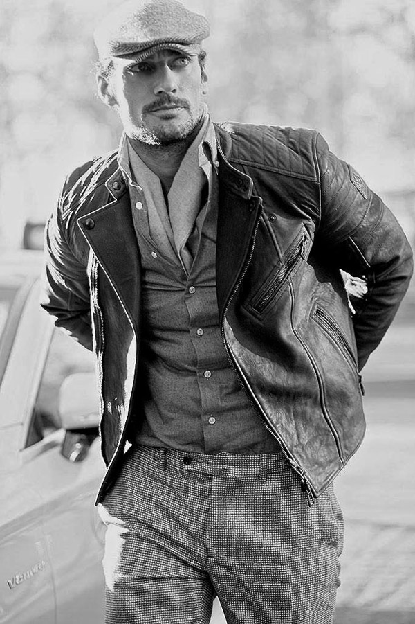 David Gandy Matches Fashion LCM shoot